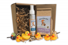Bedtime Buddies Giftset full set with rubber ducks and box