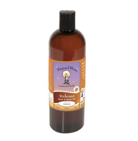 Release Bath and Body Oil and Massage 16 ounce bottle