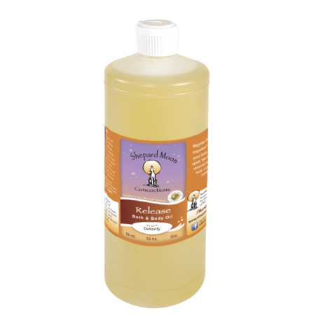 Release Bath and Body Oil and Massage 32 ounce bottle