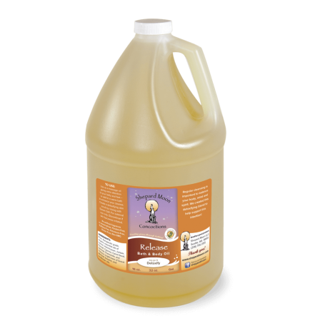 Release Bath and Body Oil and Massage gallon bottle