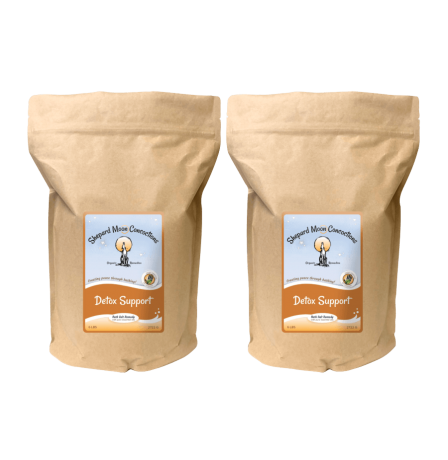 Detox Support Bath Remedy two 6 pound bags