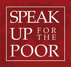 Speak Up for the Poor Logo